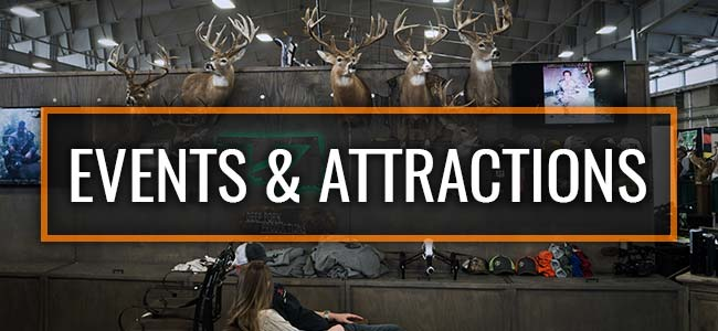 Backwoods Hunting & Fishing Expo Events & Attractions